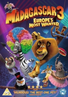 Madagascar 3 - Europe's Most Wanted, DVD  DVD