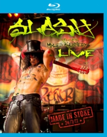 Slash Featuring Myles Kennedy: Made in Stoke 24/07/11, Blu-ray BluRay