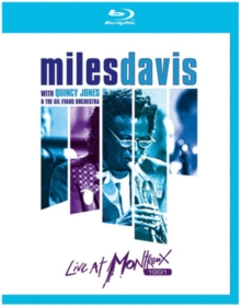 Miles Davis With Quincy Jones & the Gil Evans Orchestra: Live..., Blu-ray BluRay