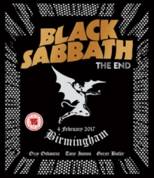 Black Sabbath: The End, Blu-ray BluRay