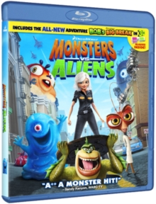 Monsters Vs Aliens, Blu-ray  BluRay