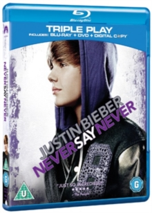 Justin Bieber: Never Say Never, Blu-ray  BluRay