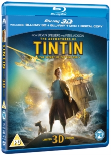 The Adventures of Tintin: The Secret of the Unicorn, Blu-ray BluRay