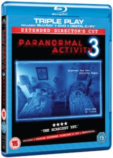 Paranormal Activity 3: Extended Cut, Blu-ray  BluRay