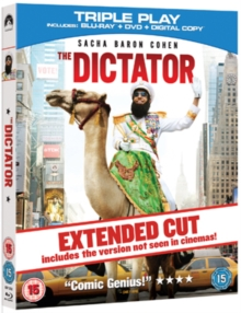 The Dictator, Blu-ray BluRay