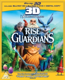 Rise of the Guardians, Blu-ray  BluRay