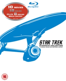 Star Trek: The Movies 1-10, Blu-ray  BluRay