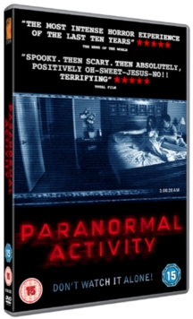 Paranormal Activity, DVD  DVD