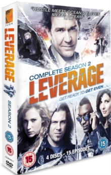 Leverage: Complete Season 2, DVD  DVD