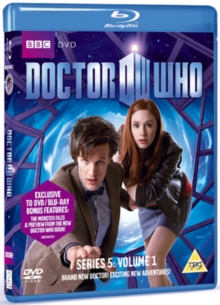 Doctor Who - The New Series: 5 - Volume 1, Blu-ray  BluRay