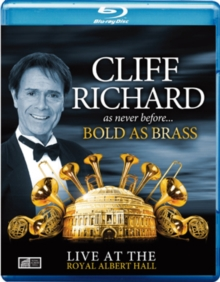 Cliff Richard: Bold As Brass - Live at the Royal Albert Hall, Blu-ray  BluRay