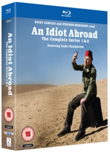 An  Idiot Abroad: Series 1 and 2, Blu-ray BluRay
