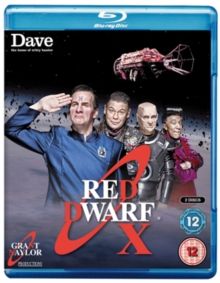 Red Dwarf: X, Blu-ray  BluRay