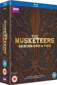 The Musketeers: Series 1 and 2, Blu-ray BluRay