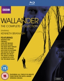 Wallander: The Complete Collection, Blu-ray BluRay