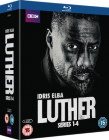 Luther: Series 1-4, Blu-ray  BluRay