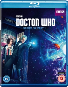 Doctor Who: Series 10 - Part 1, Blu-ray BluRay