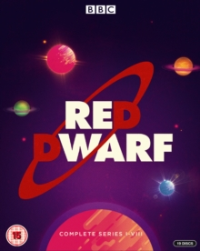 Red Dwarf: Complete Series I-VIII, Blu-ray BluRay