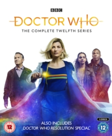 Doctor Who: The Complete Twelfth Series, Blu-ray BluRay