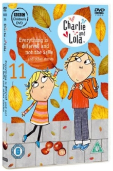 Charlie and Lola: Everything Is Different and Not the Same, DVD  DVD