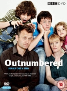 Outnumbered: Series 1 and 2, DVD  DVD