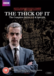 The Thick of It: Series 1-3, DVD DVD