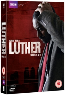 Luther: Series 1 and 2, DVD  DVD