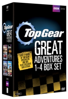 Top Gear - The Great Adventures: 1-4, DVD  DVD