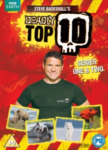 Steve Backshall's Deadly Top 10: Series 1 and 2, DVD  DVD