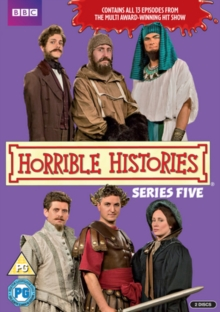 Horrible Histories: Series 5, DVD  DVD
