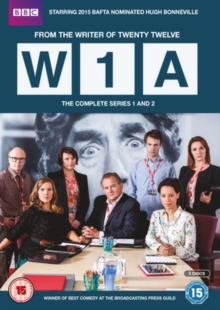 W1A: The Complete Series 1 and 2, DVD DVD