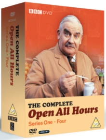 Open All Hours: The Complete Series 1-4, DVD DVD