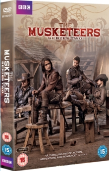 The Musketeers: Series 2, DVD DVD