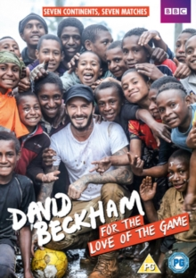 David Beckham: For the Love of the Game, DVD DVD