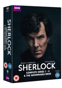 Sherlock: Complete Series 1-4 & the Abominable Bride, DVD DVD