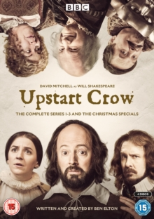 Upstart Crow: The Complete Series 1-3 and the Christmas Specials, DVD DVD