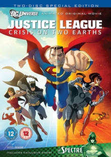 Justice League: Crisis On Two Earths, DVD  DVD