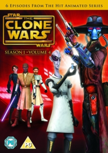 Star Wars - The Clone Wars: Season 1 - Volume 4, DVD  DVD