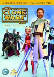 Star Wars - The Clone Wars: Season 1 - Volume 3, DVD  DVD