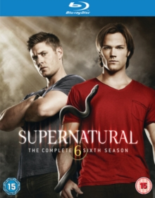 Supernatural: The Complete Sixth Season, Blu-ray  BluRay