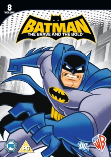 Batman - The Brave and the Bold: Volume 8, DVD  DVD