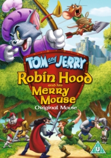 Tom and Jerry: Robin Hood and His Merry Mouse, DVD  DVD