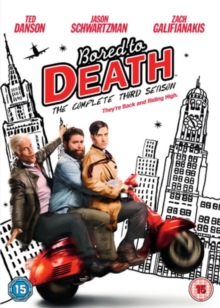 Bored to Death: The Complete Third Season, DVD DVD