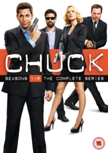 Chuck: The Complete Seasons 1-5, DVD  DVD