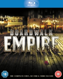 Boardwalk Empire: The Complete First, Second and Third Season, Blu-ray BluRay