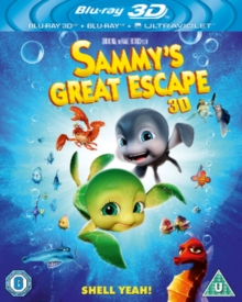 Sammy's Great Escape, Blu-ray  BluRay