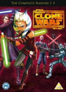 Star Wars - The Clone Wars: The Complete Seasons 1-5, DVD DVD