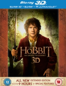 The Hobbit: An Unexpected Journey - Extended Edition, Blu-ray BluRay