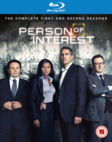 Person of Interest: The Complete First and Second Seasons, Blu-ray  BluRay