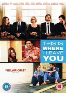 This Is Where I Leave You, DVD  DVD